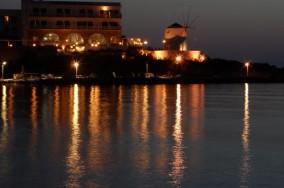 Parikia at night